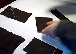 rakusu_sewing_pieces