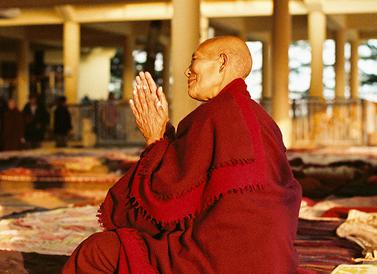 Nonne en prière