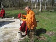 Ringou Tulkou Rinpoché, 1er avril 2010