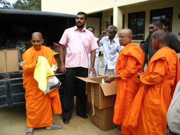Distribution de premiers secours