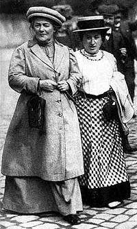 Clara Zetkin et Rosa Luxembourg - 1910