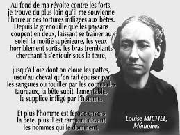 Louise Michel - animaux