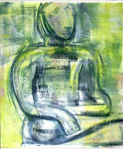 Bouddha - vert
